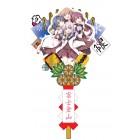 キャラクター熊手 ゆるゆり(生徒会)