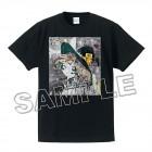 ゆるゆりTシャツ(ミラクるん)黒